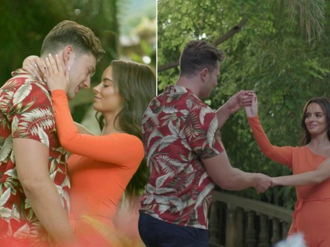 Love Island's Curtis Pritchard is 'overcompensating lack of sexual chemistry' with Maura Higgins, says body language expert