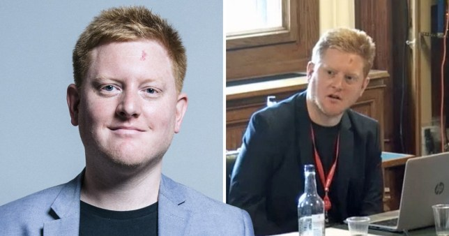 Two pictures of outgoing Sheffield and Hallam MP Jared O'Mara