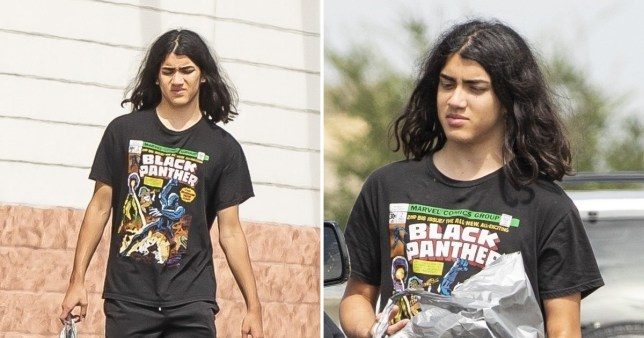 Michael Jackson's son Blanket makes rare appearance as he steps out in Los Angeles