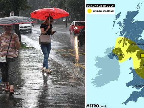 More travel chaos as thunderstorms batter UK – but sun could be back next week