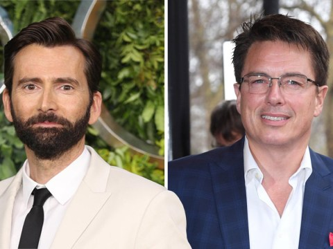 David Tennant gives us hope as he responds to John Barrowman's idea for Torchwood movie