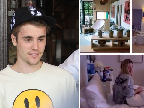 Justin Bieber gives fans look inside his house and it's swanky at Casa Bieber