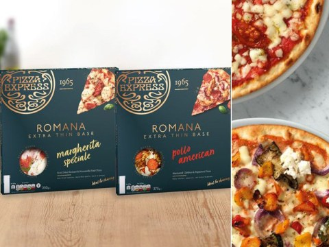 The Pizza Express Romana is now available in Waitrose and Tesco
