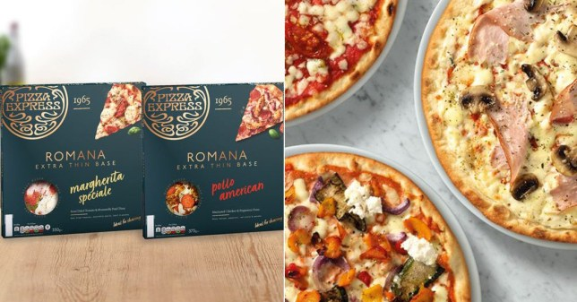The new Romana pizzas available in Waitrose and Tesco