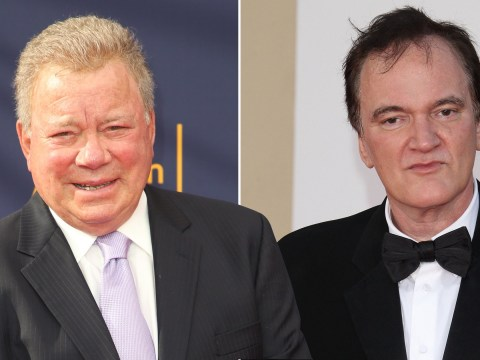 William Shatner would love to be in a Quentin Tarantino-directed Star Trek film