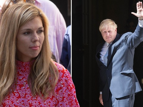 Boris Johnson moves into Downing Street with girlfriend Carrie Symonds