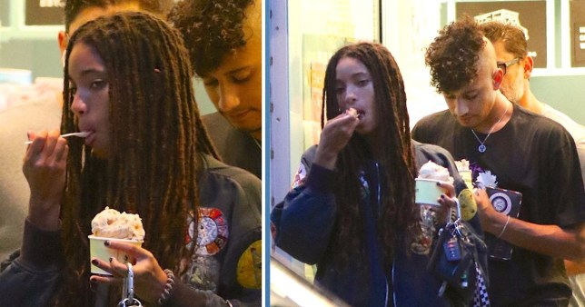 Willow Smith and boyfriend Tyler Cole