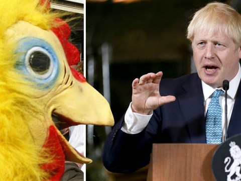 Boris Johnson's new spin doctor was Tory-taunting chicken