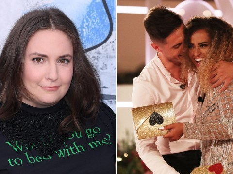 Love Island winners Amber Gill and Greg O'Shea get seal of approval from Lena Dunham as she sums up the nation's celebrations