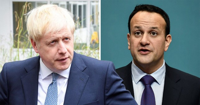 Boris Johnson has been criticised for not calling the Irish PM on his first day (Picture: Getty Images)