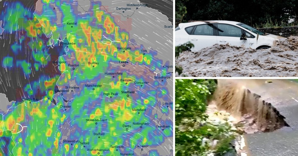 Weather warning as UK set to get battered by rain