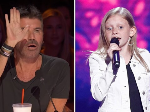 Simon Cowell cuts off child star Ansley Burns again as there's another shock result on America's Got Talent