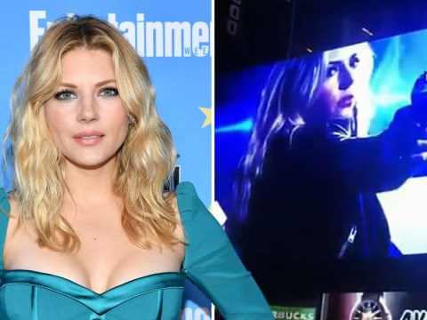 Vikings star Katheryn Winnick takes over Times Square with latest project Wu Assassins