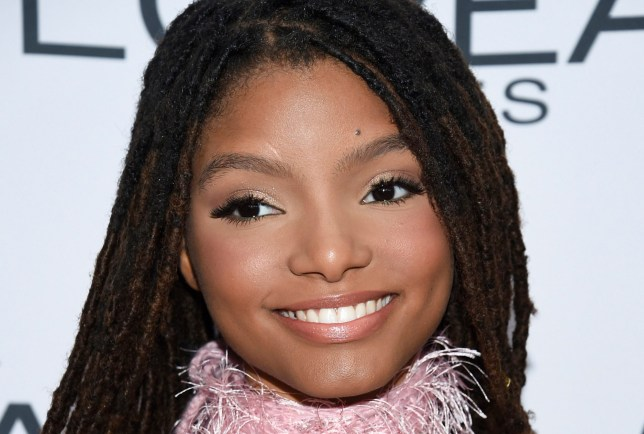 Halle Bailey who has been cast as Ariel in The Little Mermaid reboot