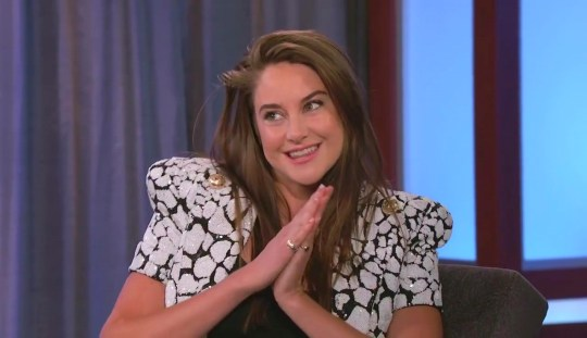 Shailene Woodley on Jimmy Kimmel Live