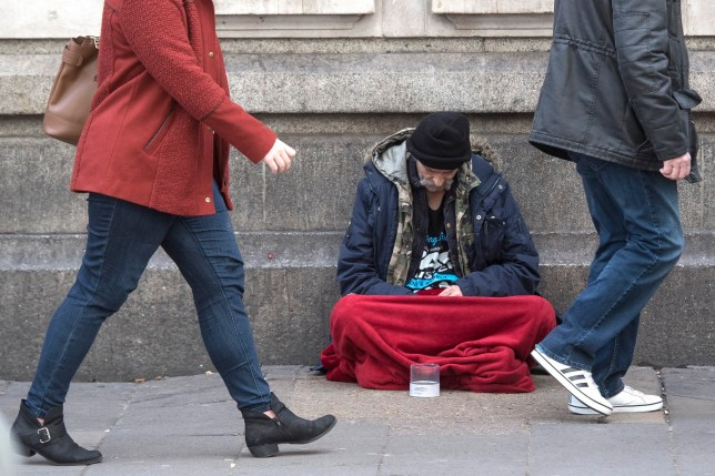 File photo dated 25/01/18 of a homeless person outside Victoria Station in London, as the number of rough sleepers on London's streets has reached a record high with an increase of almost a fifth in a year, new data shows. PRESS ASSOCIATION Photo. Issue date: Wednesday June 19, 2019. Some 8,855 people slept rough in the capital between April 2018 and March 2019, according to data from the Combined Homelessness and Information Network (Chain). See PA story POLITICS Homelessness. Photo credit should read: Victoria Jones/PA Wire