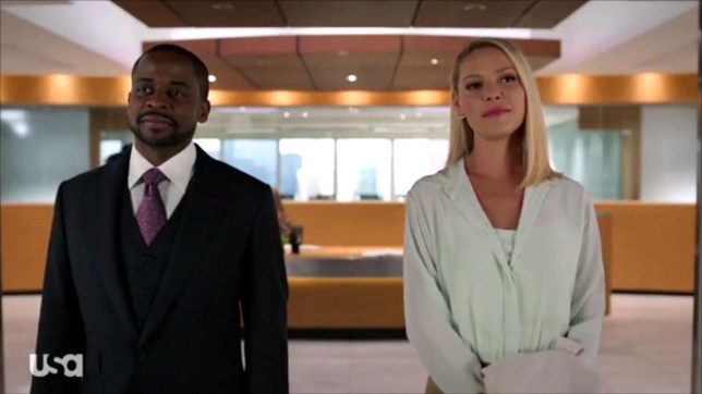 A still from dseason nine of Suits