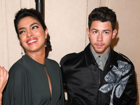 Priyanka Chopra and Nick Jonas look very happy after Sophie Turner and Joe Jonas wedding