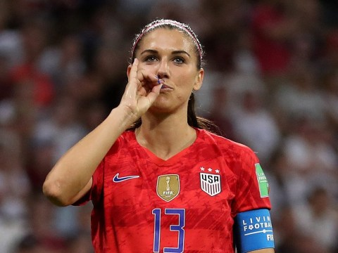 Alex Morgan hits back at critcism over her celebration in USA's World Cup win against England