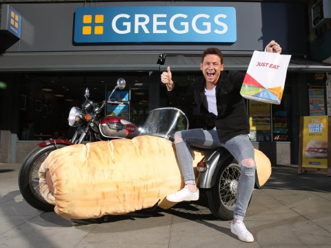 You no longer need to trek to Greggs for that vegan sausage roll, it's on Just Eat