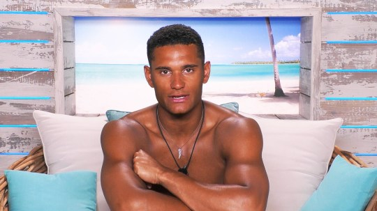 From ITV Studios Love Island: SR5: Ep17 on ITV2 Pictured: Danny in beach hut. This photograph is (C) ITV Plc and can only be reproduced for editorial purposes directly in connection with the programme or event mentioned above, or ITV plc. Once made available by ITV plc Picture Desk, this photograph can be reproduced once only up until the transmission [TX] date and no reproduction fee will be charged. Any subsequent usage may incur a fee. This photograph must not be manipulated [excluding basic cropping] in a manner which alters the visual appearance of the person photographed deemed detrimental or inappropriate by ITV plc Picture Desk. This photograph must not be syndicated to any other company, publication or website, or permanently archived, without the express written permission of ITV Picture Desk. Full Terms and conditions are available on the website www.itv.com/presscentre/itvpictures/terms For further information please contact: james.hilder@itv.com / 0207 157 3052