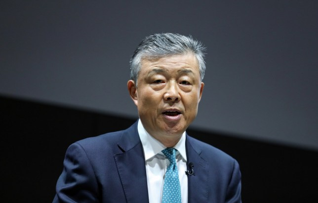 Liu Xiaoming, China's ambasador to U.K., delivers a speech at Bloomberg's European headquarters in London, U.K., on Tuesday, May 8, 2018. North Korean leader??Kim Jong Un??will be eyeing closely what Donald Trump??decides on the Iran nuclear deal, with potential repercussions for their upcoming summit, according to Liu. Photographer: Chris Ratcliffe/Bloomberg via Getty Images