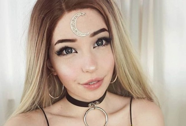 A photo of social media star Belle Delphine