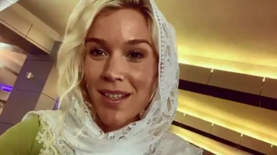 Joss Stone claims she was deported from Iran