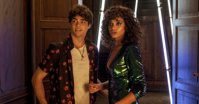 Noah Centineo hypes up Charlie's Angels as he calls his character 'the right amount of goofy'