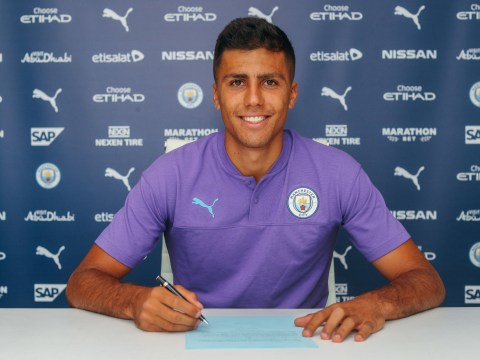 Manchester City complete Rodri signing from Atletico Madrid