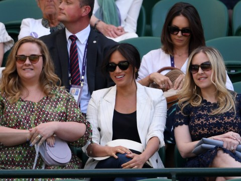 Piers Morgan launches into furious Meghan Markle rant over 'private' Wimbledon appearance: 'Go back to America'