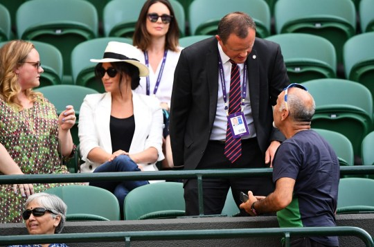 Meghan Markle selfie-snapper says he had 'no idea she was there'