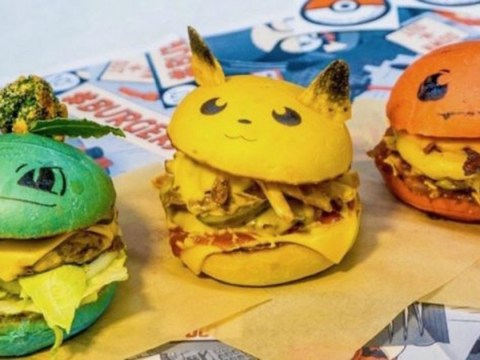A Pokémon themed bar is touring England