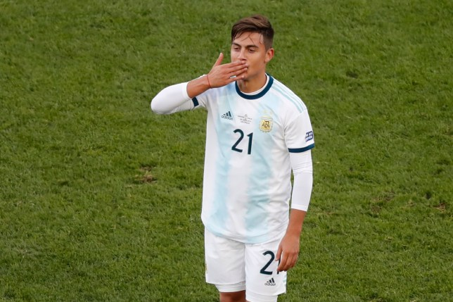 Paulo Dybala is open to a move away from Juventus