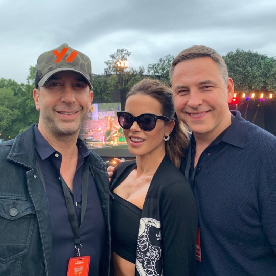 Kate Beckinsale and Noel Gallagher spark friendship watching Bob