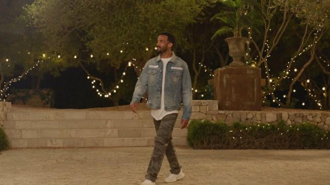 Craig David enters the Love Island villa