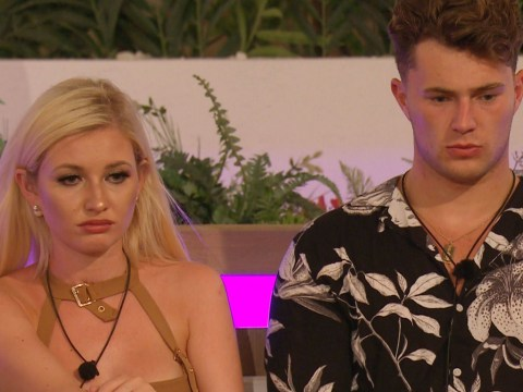 Love Island's Amy Hart 'refuses to watch Maura Higgins give Curtis Pritchard lap dance'