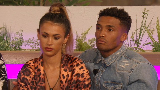 Michael Griffiths and Joanna Chimonides on Love Island