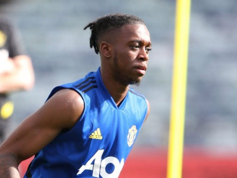 Aaron Wan-Bissaka earns 'spider' nickname against Juan Mata in Manchester United training session
