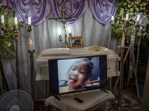 Funeral held for toddler, 3, youngest victim of devastating Philippines drug war