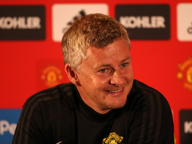 PERTH, AUSTRALIA - JULY 10: Manager Ole Gunnar Solskjaer of Manchester United speaks during a press conference at WACA on July 10, 2019 in Perth, Australia. (Photo by Matthew Peters/Manchester United via Getty Images)