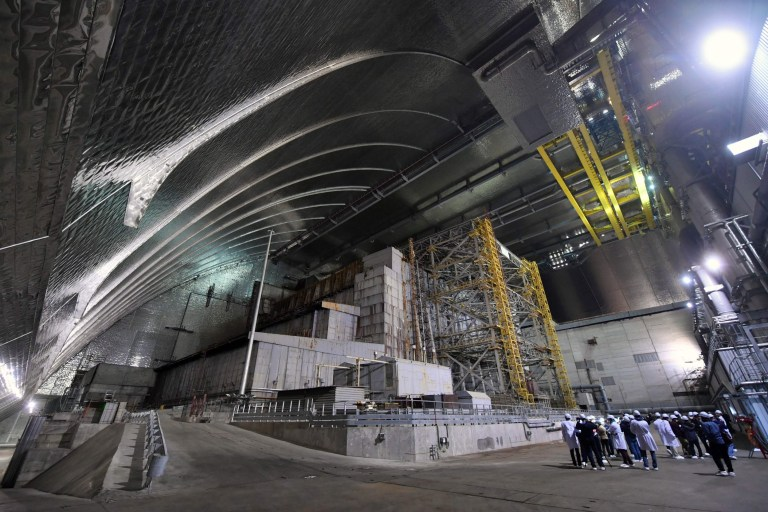 New £2bn dome over toxic Chernobyl nuclear reactor