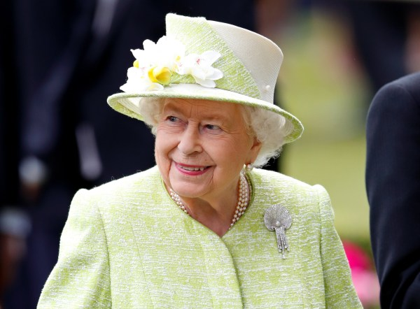ASCOT, UNITED KINGDOM - JUNE 22: (EMBARGOED FOR PUBLICATION IN UK NEWSPAPERS UNTIL 24 HOURS AFTER CREATE DATE AND TIME) Queen Elizabeth II attends day five of Royal Ascot at Ascot Racecourse on June 22, 2019 in Ascot, England. (Photo by Max Mumby/Indigo/Getty Images)