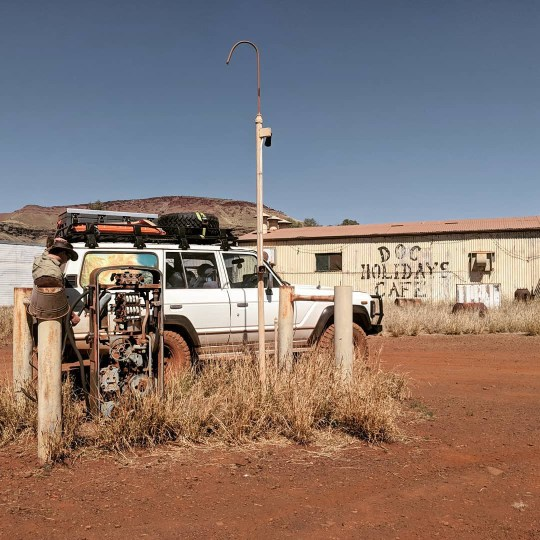Tourists flock to Oz ghost town so deadly it's been taken