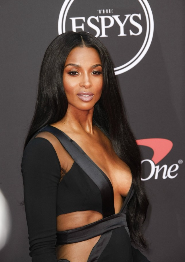 Los Angeles, CA - Celebrities attend The 2019 ESPYS presented by Capital One at the Microsoft Theater on July 10, 2019 in Los Angeles, California. Pictured: Ciara BACKGRID USA 10 JULY 2019 BYLINE MUST READ: MediaPunch / BACKGRID USA: +1 310 798 9111 / usasales@backgrid.com UK: +44 208 344 2007 / uksales@backgrid.com *UK Clients - Pictures Containing Children Please Pixelate Face Prior To Publication*