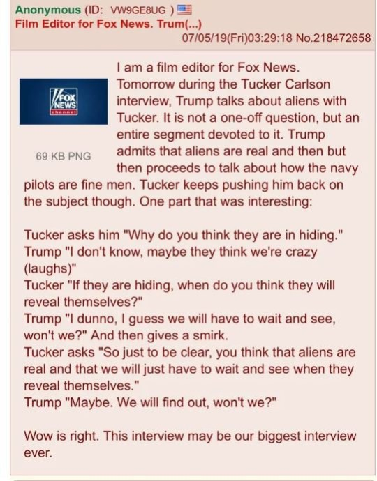 Donald Trump sparks conspiracy theories after Fox Tucker
