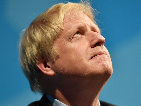 Boris is like he is 'because he was cast as God in school play'