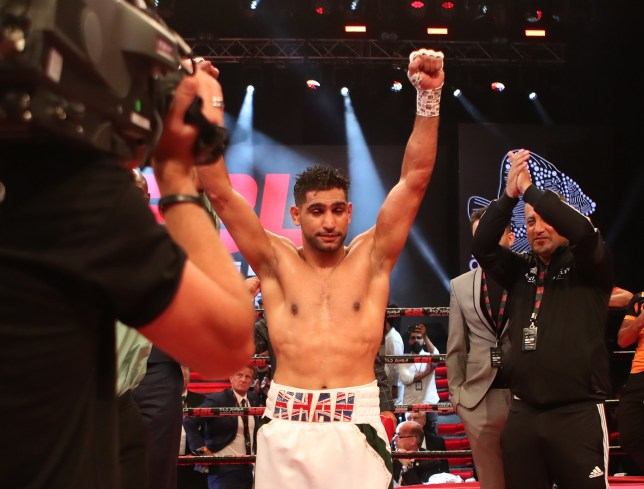 PRI_75658685 Amir Khan beats Billy Dib with fourth-round stoppage in £7m Saudi Arabia fight