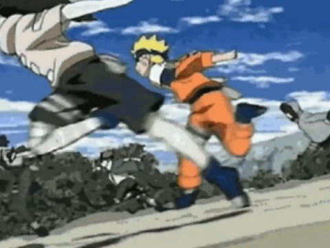 What is a Naruto run and how is it linked to Area 51?