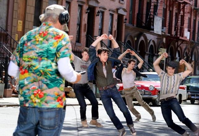 Steven Spielberg directs West Side Story